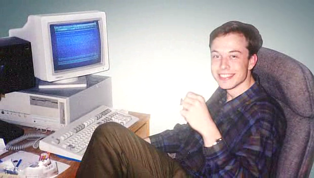 Young Elon Musk