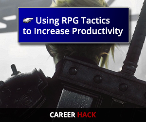 Using RPG Tactics to Increase Productivity