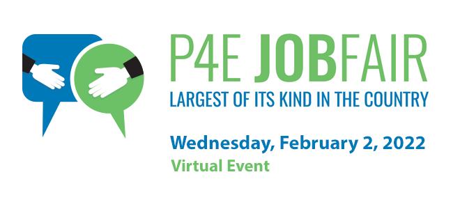 P4E Job Fair Banner