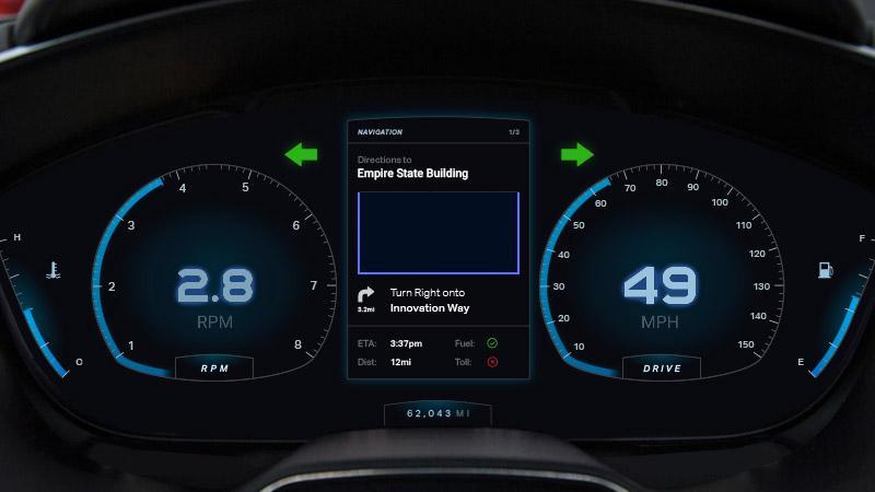 car dashboard e91