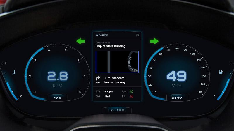 car dashboard e91