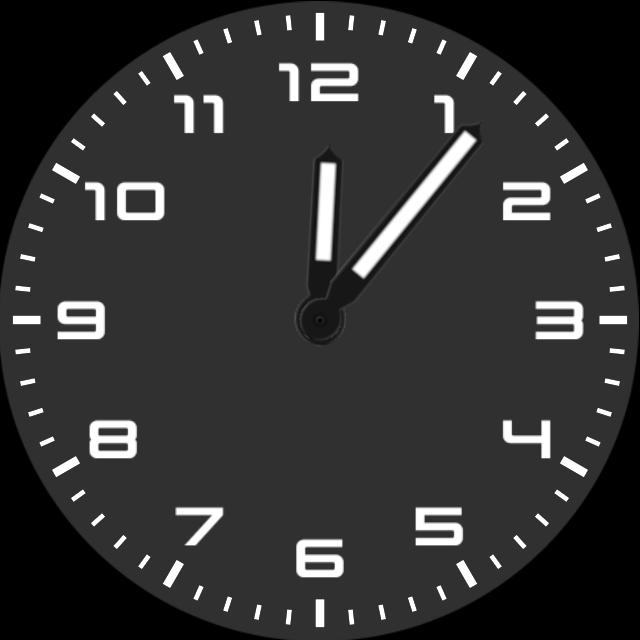 Clock-Basic Analog