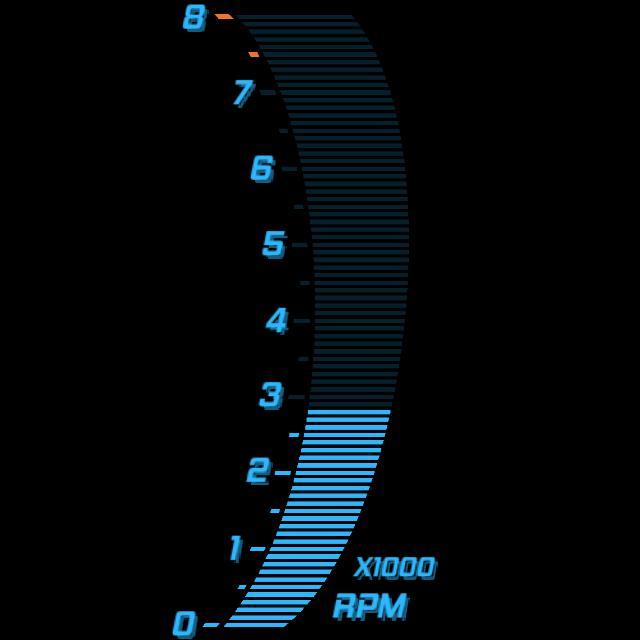 RPM Right Arc Digital Blue V3