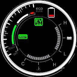 Hybrid Throttle Gauge