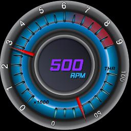 Blue SS RPM/Throttle