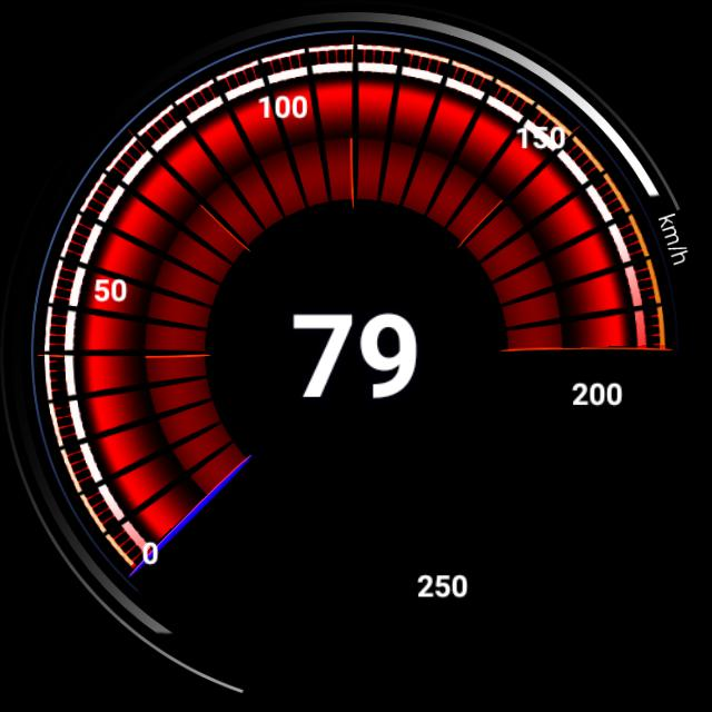 BMW speedmeter