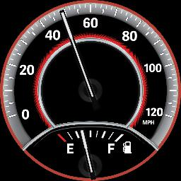 Journey Speedo &  Fuel