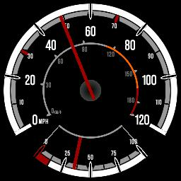 Vauxhall Corsa D Speedometer w/ Fuel Gauge (stylised)