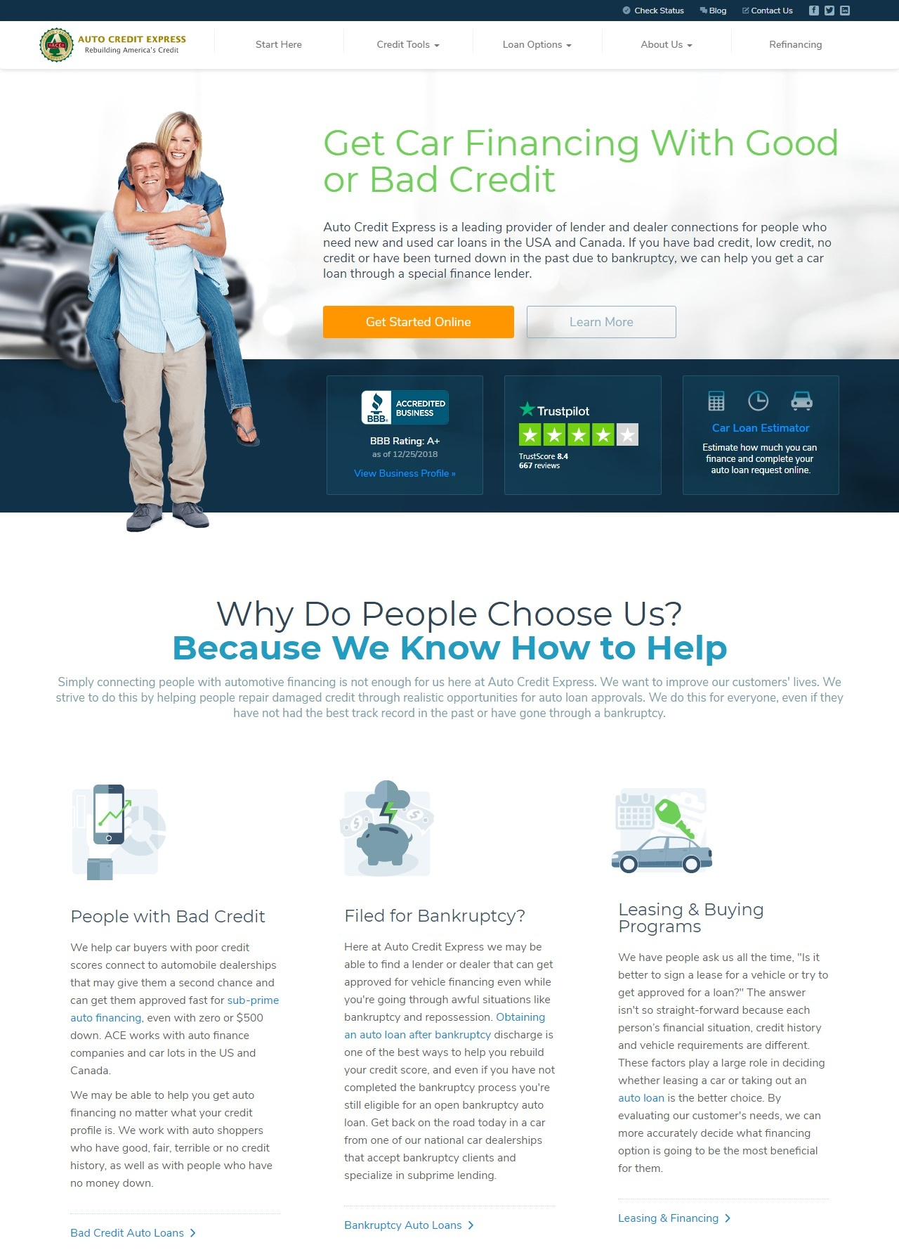 Auto Credit Express Reviews >> Top Lenders Reviews 2019 Trusted 5 Car Loans