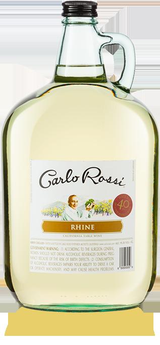 Rhine Wine Crisp White Wine
