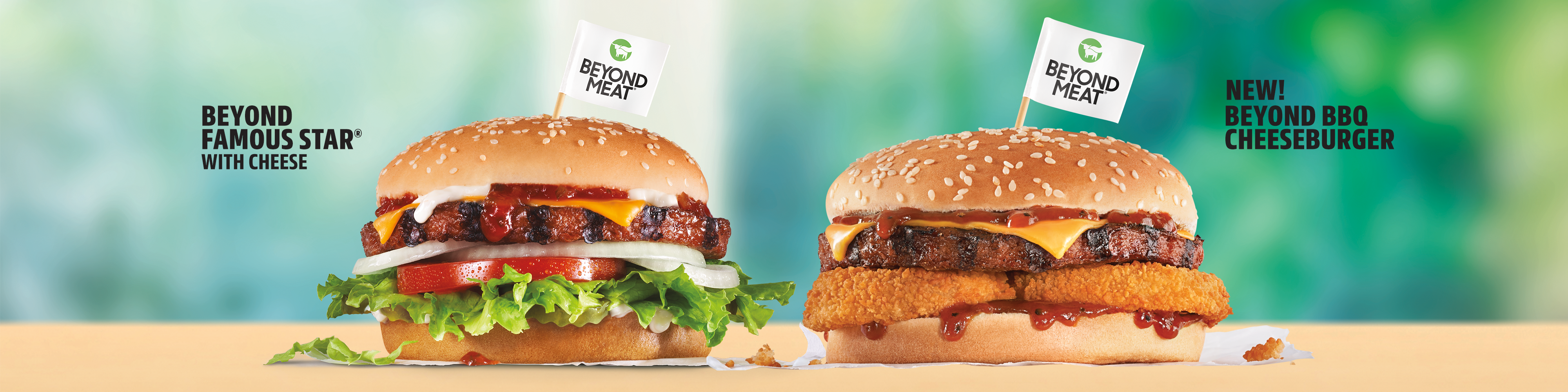 Carl's Jr. Beyond Famous Star® with Cheese