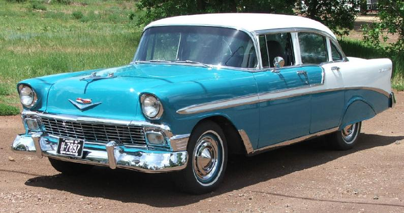 chevy belair son dad