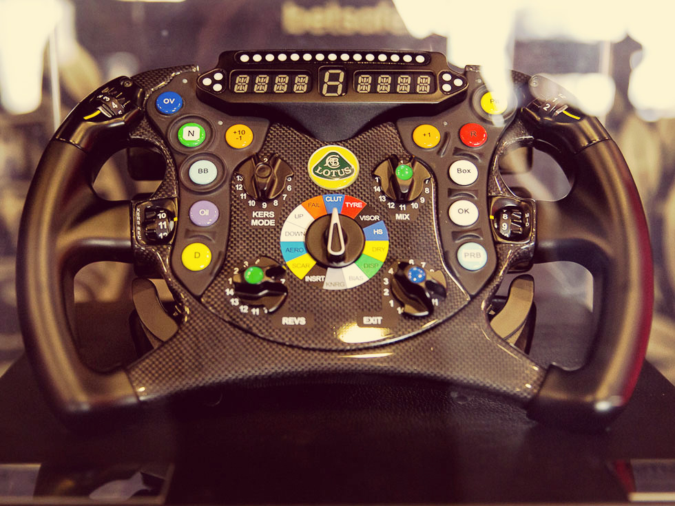 Steering Wheel Lotus F1 Team