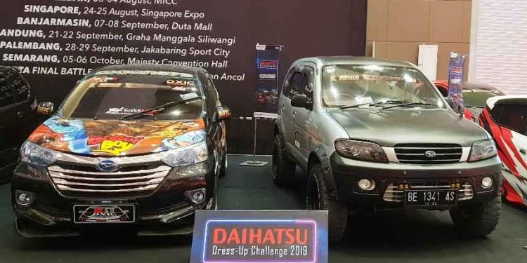 Kontes Daihatsu Dress Up Challenge 2019