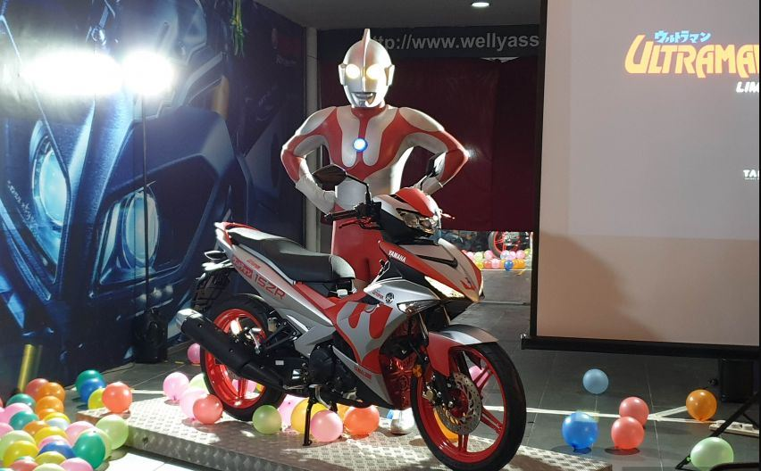 Yamaha Y15ZR Ultraman Limited Edition (Foto: Paultan)