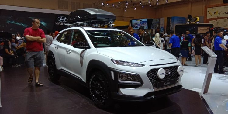 Hyundai Kona Modifikasi di GIIAS 2019