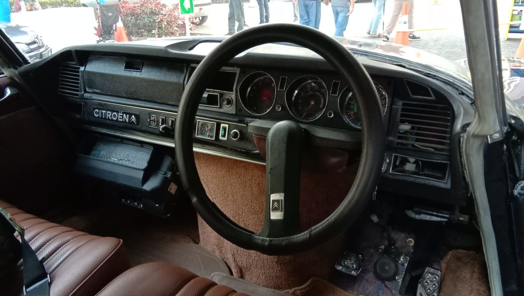 Interior Citroen DS Break 1970
