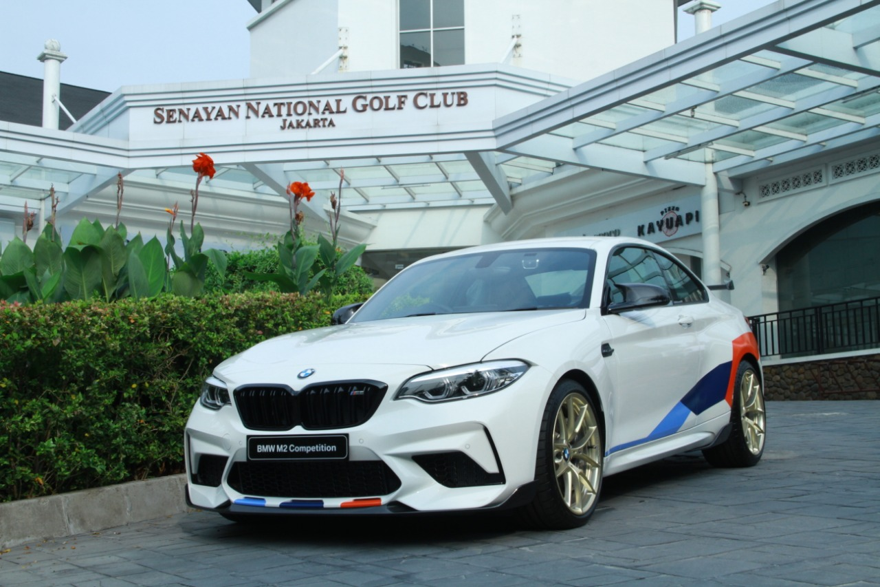 BMW tawarkan M2 performance package.