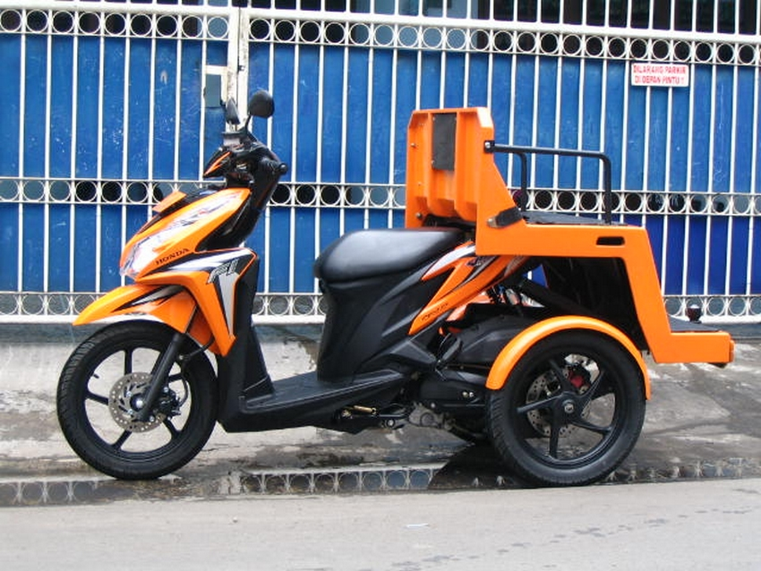 Modifikasi motor difabel