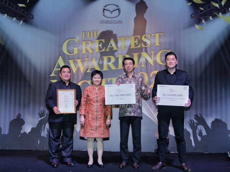 Mazda Dealer Exellence Award 2019.