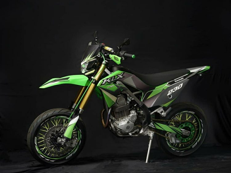 Modifikasi Kawasaki KLX, (Foto: adventuriders.com)