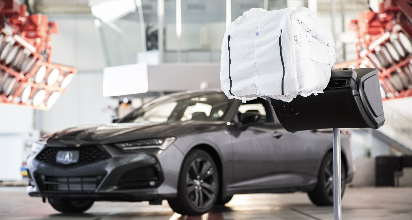 Airbag All New Acura TLX.