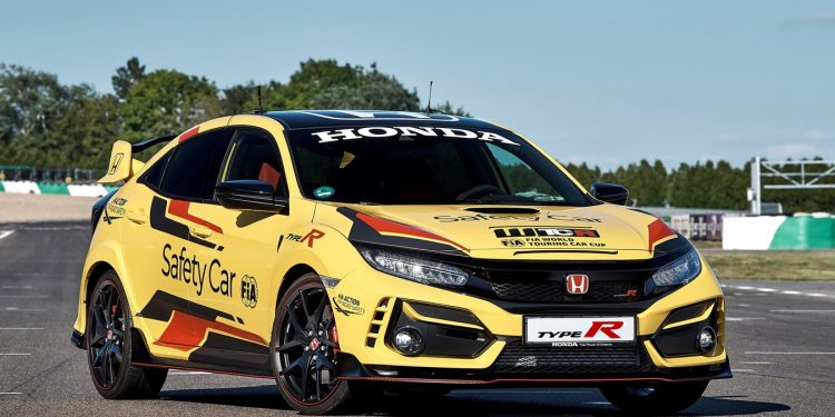 Honda Civic Type R Limited Edition, jadi safety car official WTCR 2020