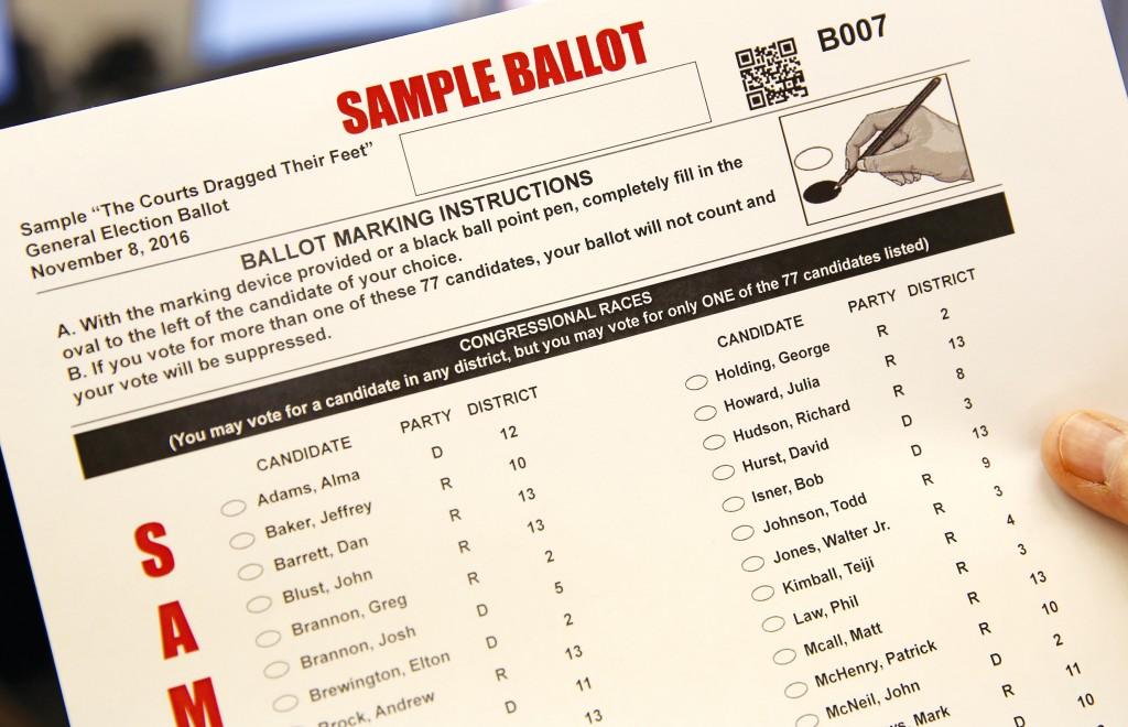 CJ spoof ballot