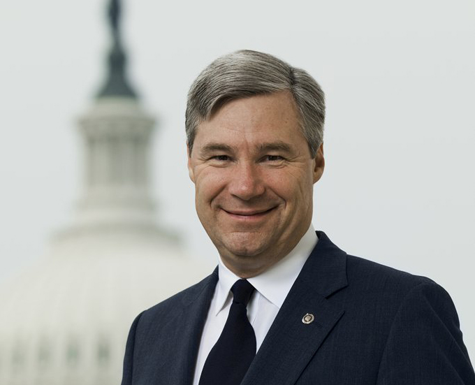 U.S. Sen. Sheldon Whitehouse, D.-R.I., is leading campaign denouncing JLF and other free-market groups. (From Whitehouse Senate website)