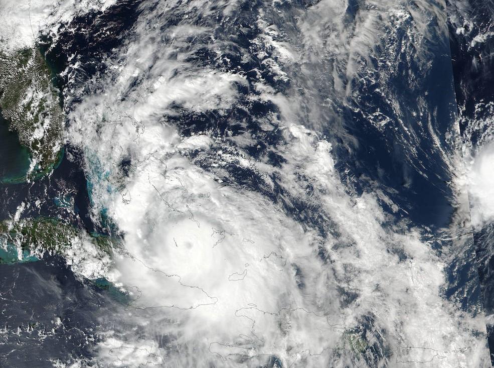Hurricane Matthew (Courtesy of Embry-Riddle Aeronautical University)