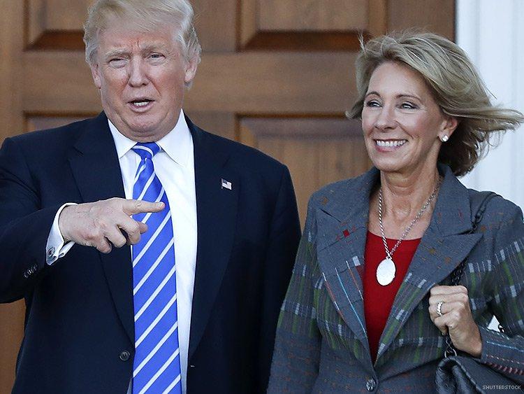 Trump pick for education secretary under fire over donations ... 302d7815f12e