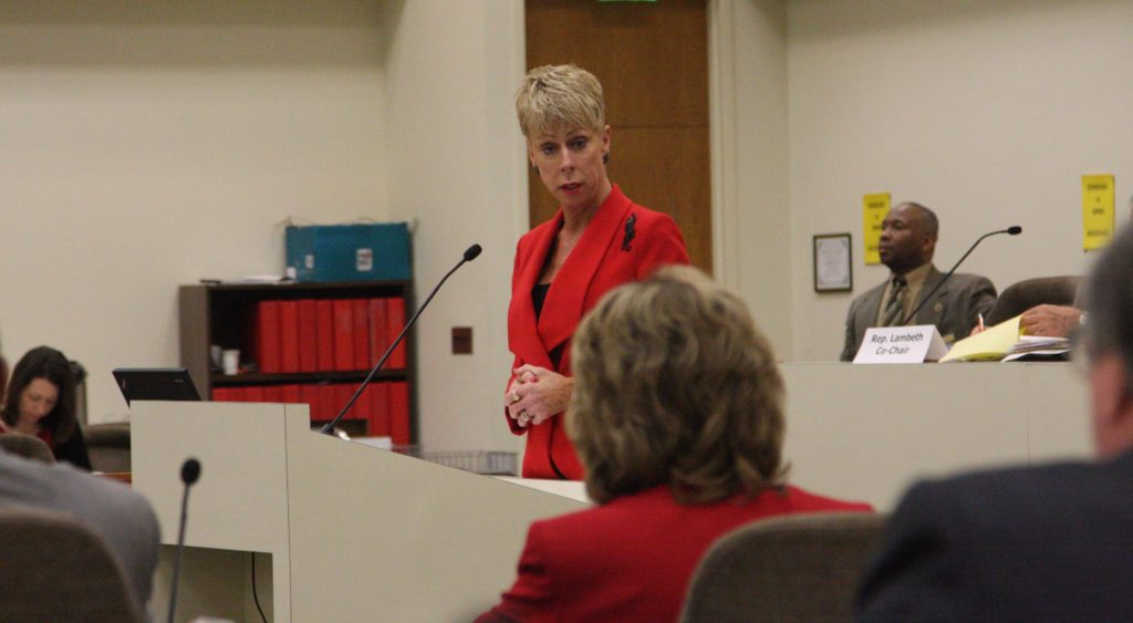 State Auditor Beth Wood. (photo by Dan Way)