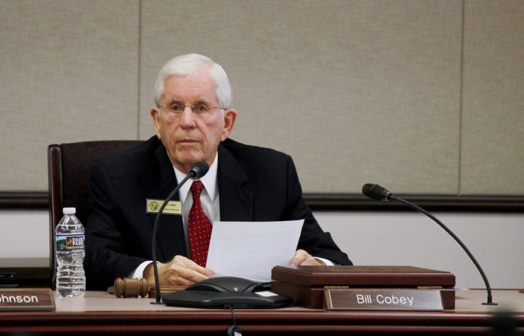 N.C. State Board of Education Chairman Bill Cobey, pictured in December 2016. (CJ photo by Kari Travis)