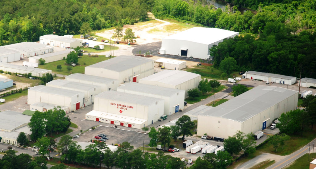 EUE-Screen Gems studios in Wilmington. (Photo courtesy Wilmington Film Commission)