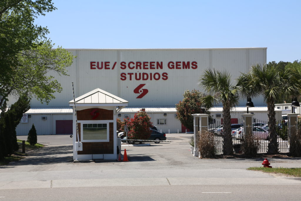 The EUE-Screen Gems Studio complex in Wilmington. (CJ photo by Don Carrington)