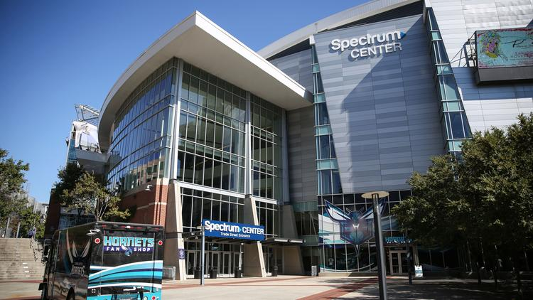 The Spectrum Center in Charlotte will host the 2019 NBA All-Star weekend. (Photo from WikiCommons)