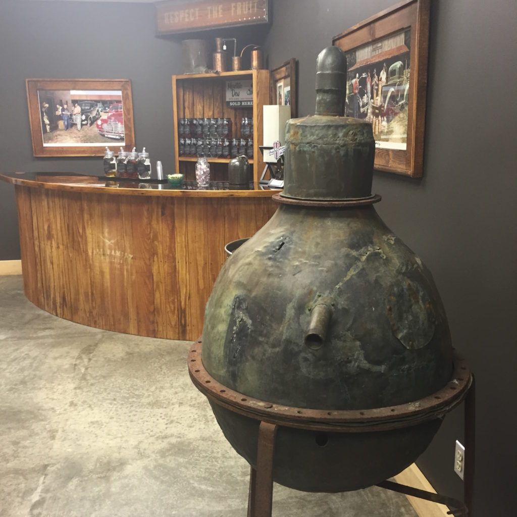 Call Family Distillers in Wilkesboro is one of the North Carolina-based craft distillers that would benefit from increased sales at the distillery allowed by Senate Bill 155 if it passes. (Photo provided by Call Family Distillers.)