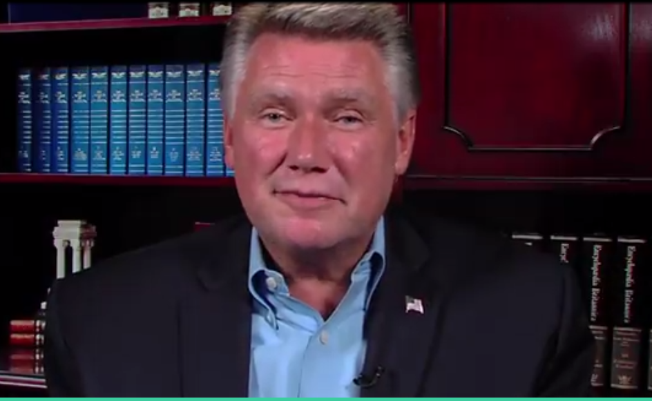 The Rev. Mark Harris, from the video announcing his campaign for U.S. Congress.