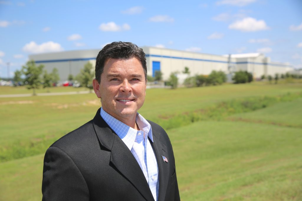 Allen Thomas, the new executive director of the Global TransPark, says he's eager to make the 2,500-acre, state-owned industrial park live up to its initial promise. (CJ photo by Don Carrington)