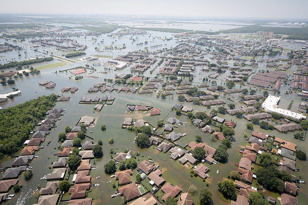 Flooding from Hurricane Harvey in Houston (South Carolina National Guard photo)