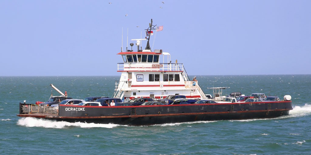 Hatteras Free Ferry To Ocracoke Island