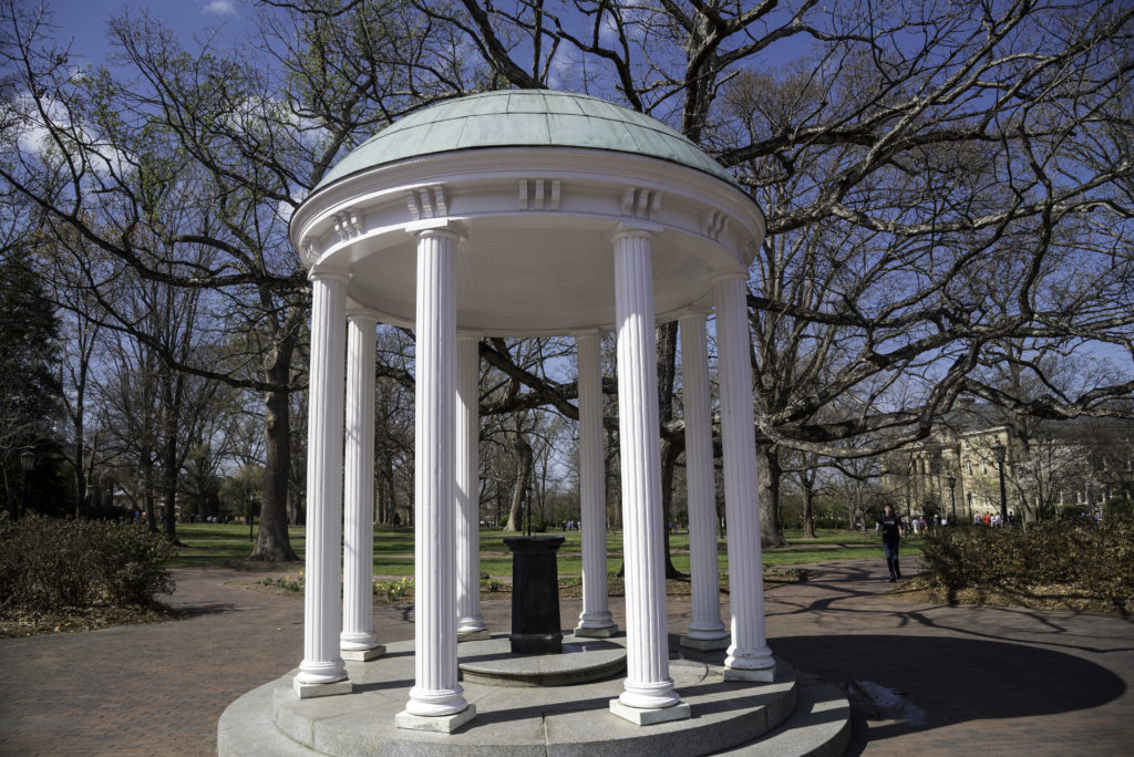 The Old Well on the campus of UNC-Chapel Hill. (Photo Courtesy of Good Free Photos)