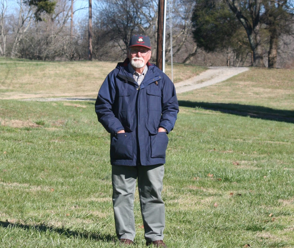 Gene Kirby, lead plaintiff in the successful lawsuit challenging the state's Map Act, pictured here in 2016 on his property. (CJ file photo)