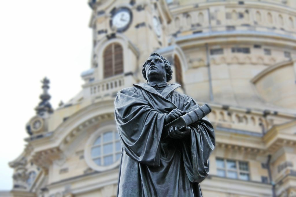 October 31 marked the 500th anniversary of the day Martin Luther is said to have nailed his theses to a chuch door, a starting point of the Reformation.