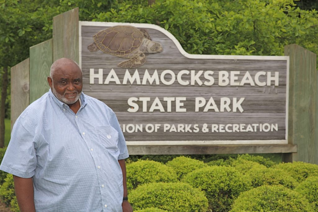 John H. Hurst (pictured here in 2015) and his sister Harriet Hurst Turner finally should see their vision of land at Hammocks Beach State Park come to pass. (CJ photo by Don Carrington)