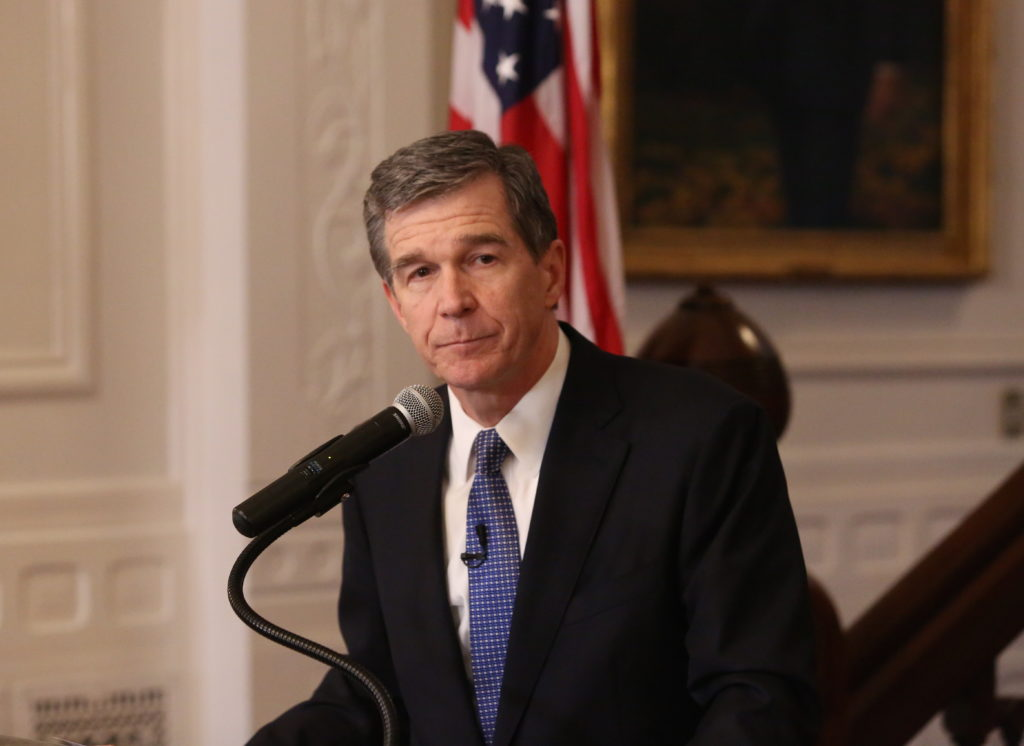 Gov. Roy Cooper (CJ photo by Don Carrington)