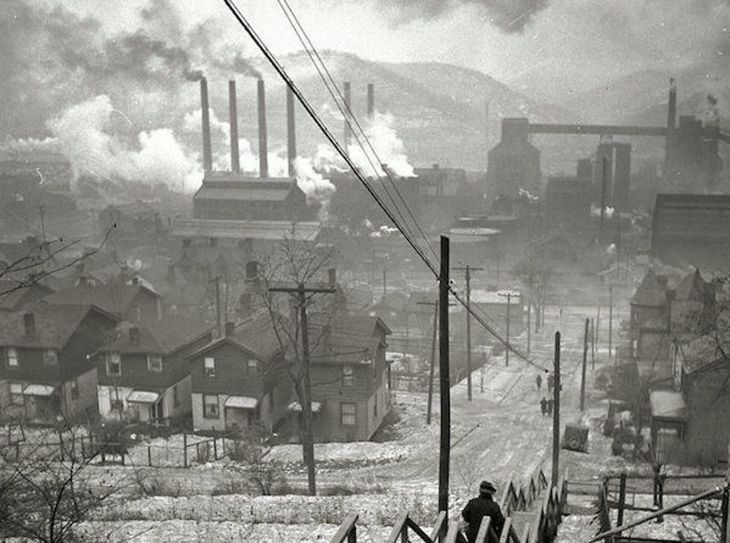 Mill District of Pittsburgh, January 1940 (Office of War Information)