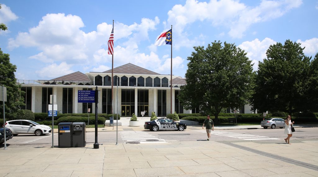 The N.C. Legislative Building in Raleigh. (CJ photo by Don Carrington)