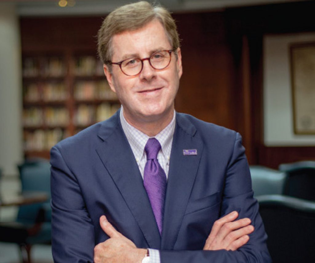 East Carolina University Cecil Staton (photo from ECU website)