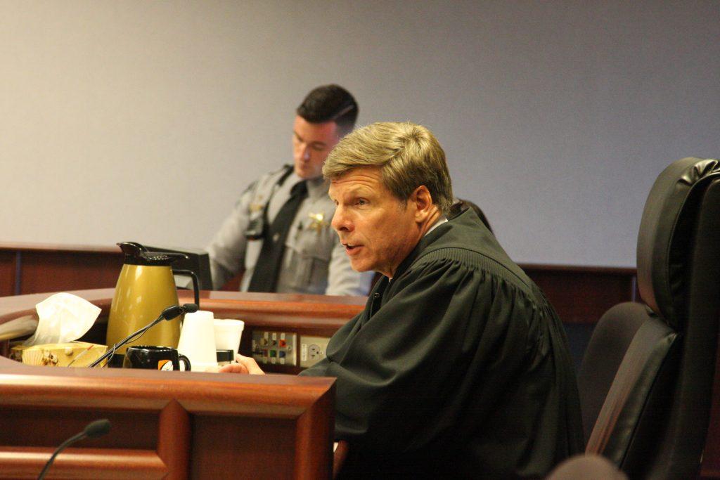 Wake County Senior Resident Superior Court Judge Paul Ridgeway in August 2018. (CJ photo by Dan Way)